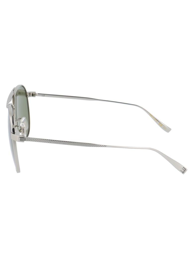 Dunhill Du0005s Sunglasses - 004 SILVER SILVER GREEN