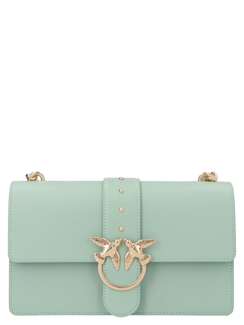 Pinko 'love Classic Simply'  Bag - Light blue
