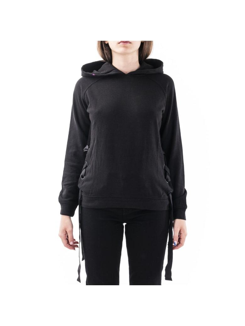 Sun 68 Sun68 Cotton Blend Sweater - BLACK