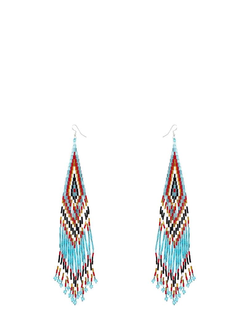 Jessie Western Earrings - Brown