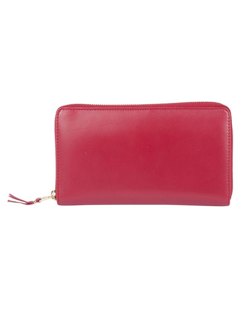 Comme des Garçons Wallet Classic Zip Around Wallet - Red