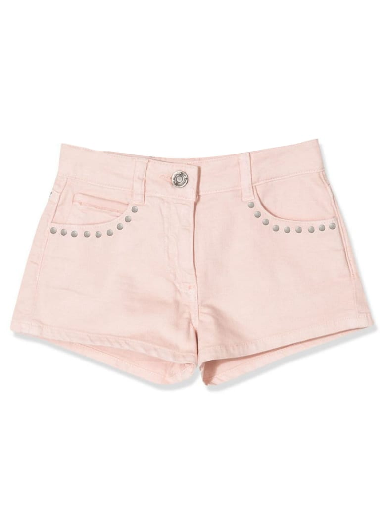 Douuod Pink Cotton Shorts - Rosa