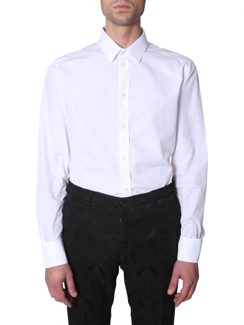 Dolce & Gabbana Slim Fit Shirt - BIANCO
