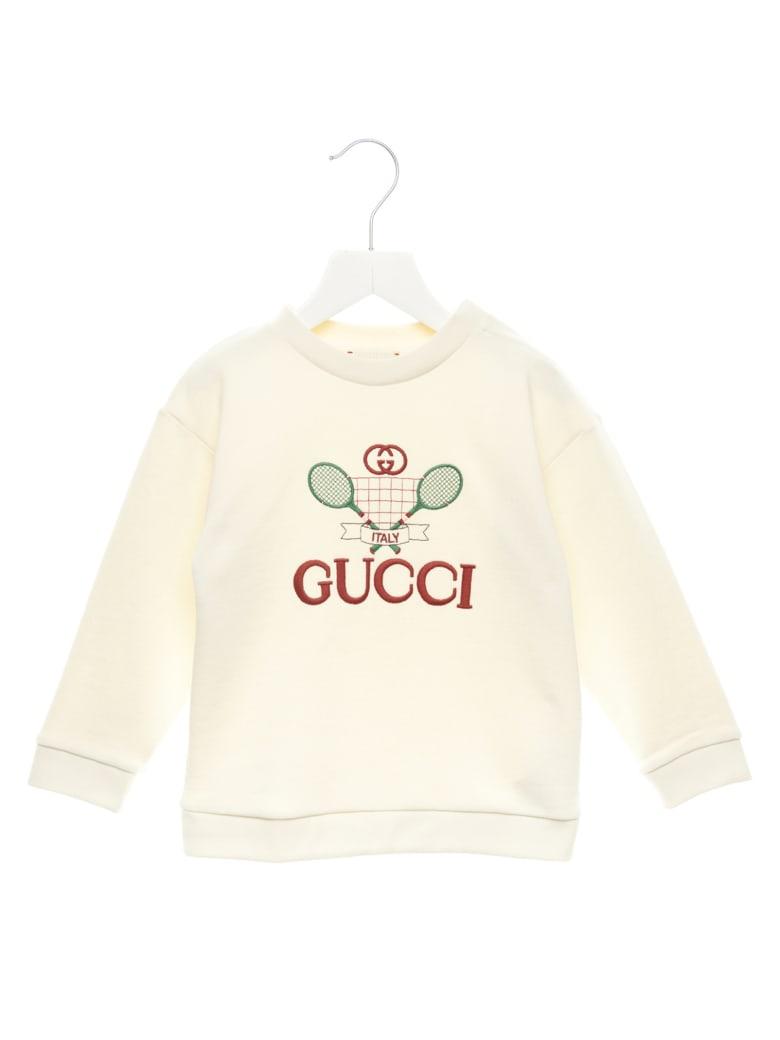 Gucci 'gucci Tennis' Sweatshirt - White