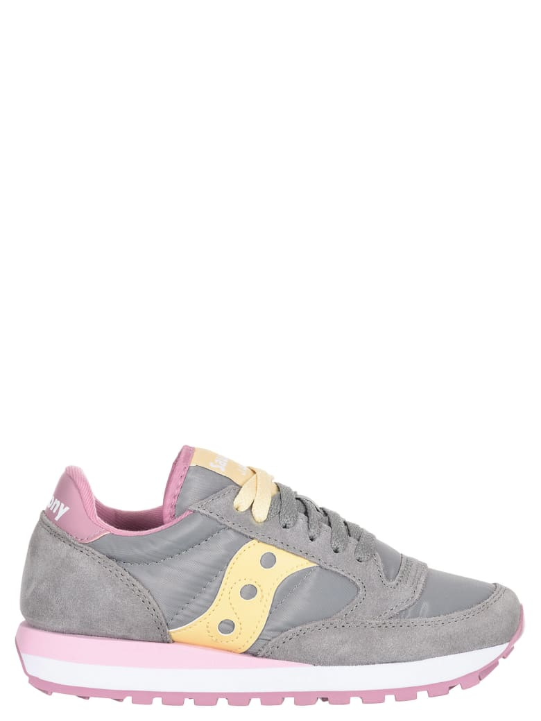 Saucony Jazz Grey/orchid/wheat Sneakers - Grey/orchid/wheat