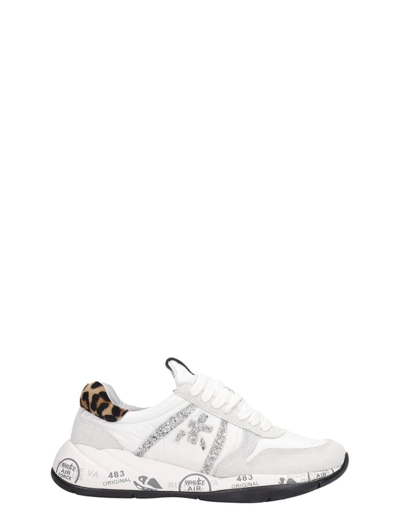 Premiata Layala  Sneakers In White Tech/synthetic - white
