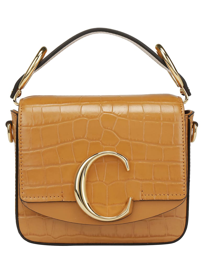 Chloé Mini Shoulder Bag - Autumnal brown