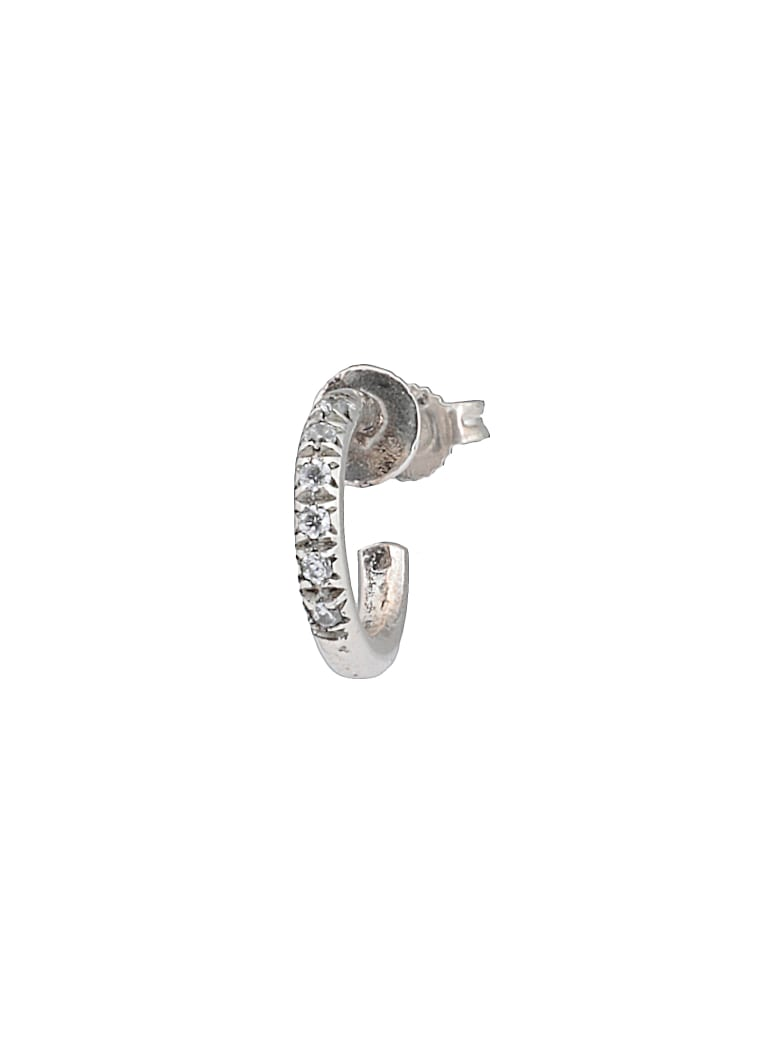 Angostura Earring With Diamond - GOLD-SILVER