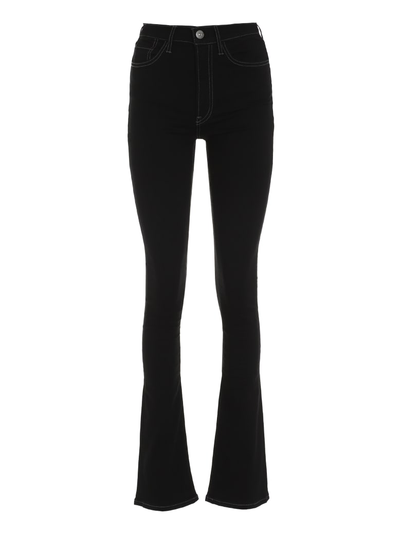 3x1 Maya Skinny Flare Jeans - black