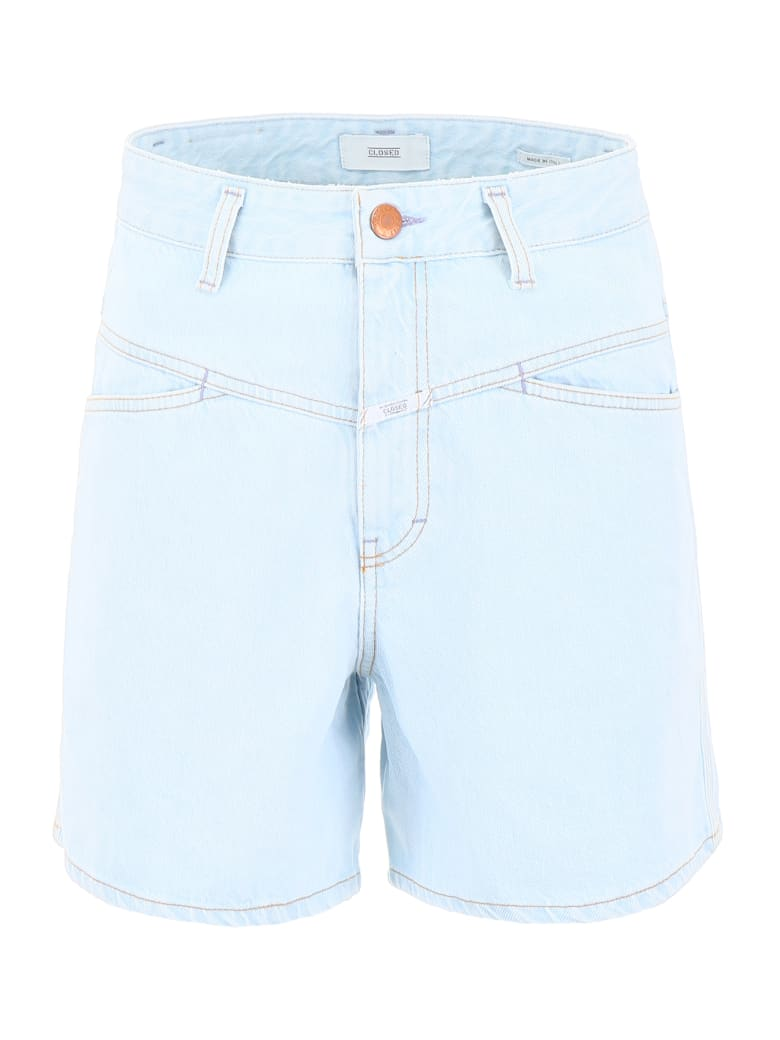 Closed Worker '85 Shorts - LIGHT BLUE (Light blue)