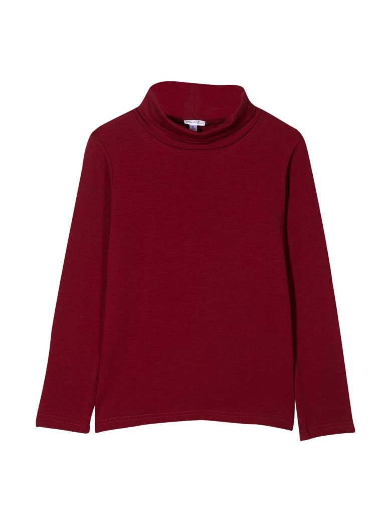 Piccola Ludo Burgundy Top - Bordeau