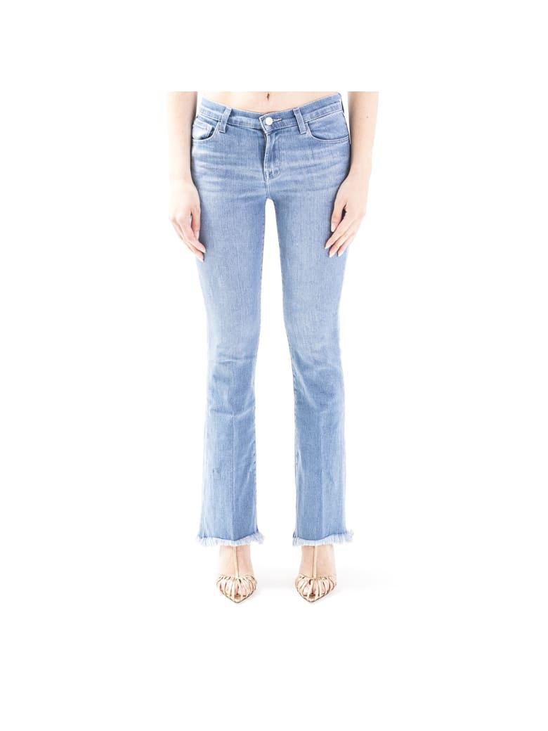 J Brand Sallie Blend Cotton Jeans - Blu