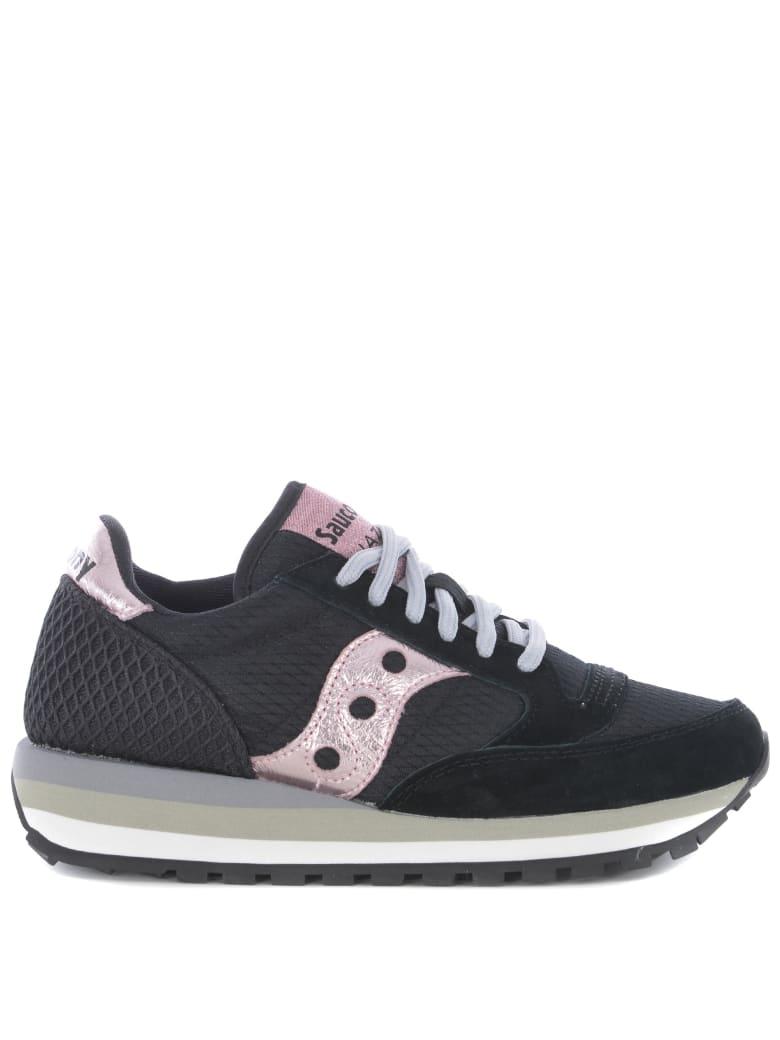 Saucony Jazz Triple Original Sneakers - Nero/rosa