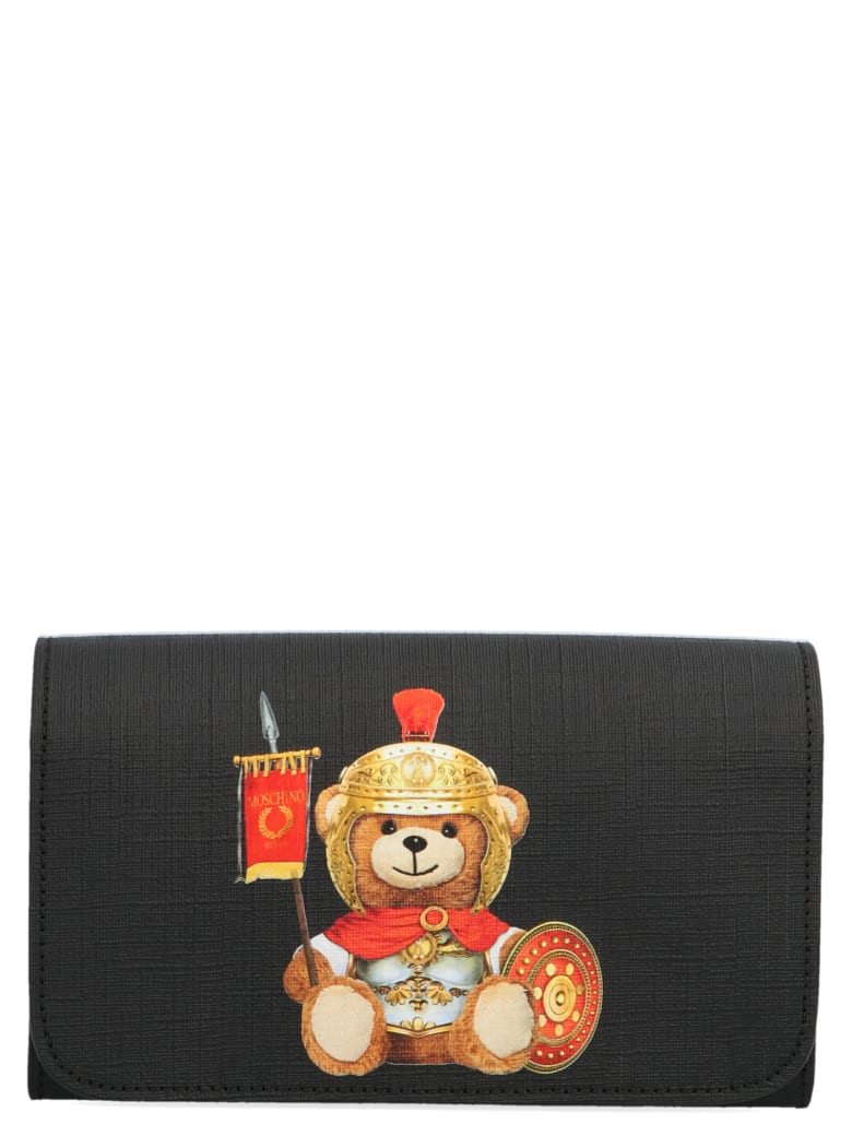 Moschino 'teddy Gladiatore' Bag - Black
