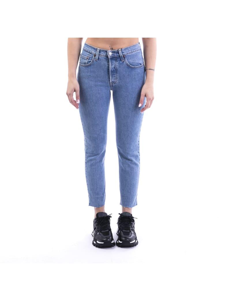 Levi's Blend Cotton Jeans - DENIM