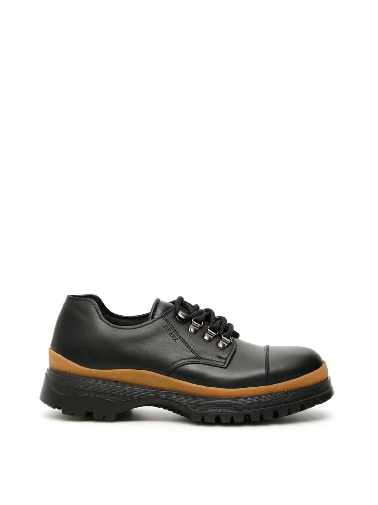 Prada Pull-up Shoes - NERO CARAMELLO (Black)