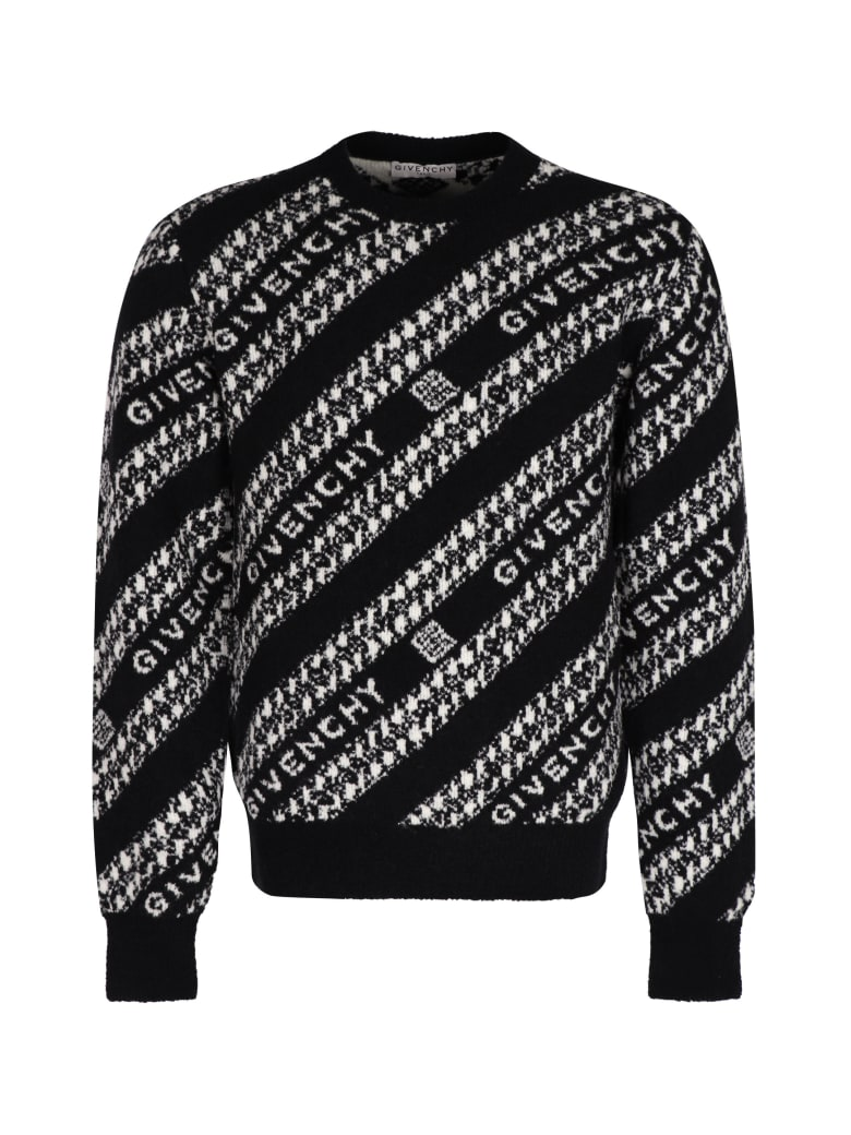 Givenchy Jacquard Sweater - black
