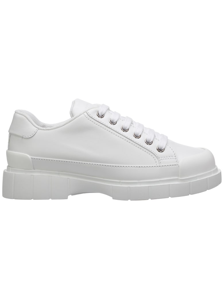 Car Shoe Sneaker Sneakers - Bianco