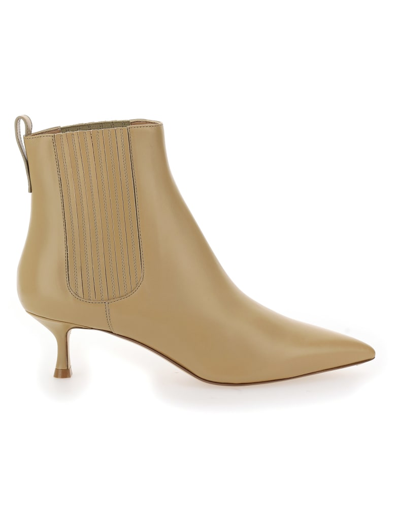 Francesco Russo Boots - Beige