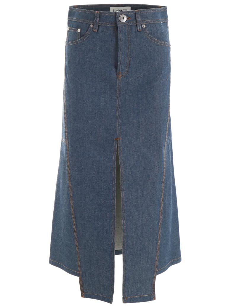 Lanvin Denim Skirt - CLOUD (Blue)