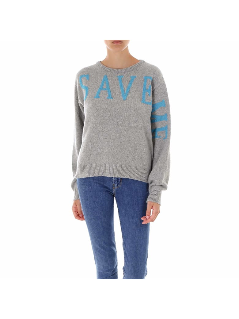 Alberta Ferretti Love Me Collection Sweater - Grey