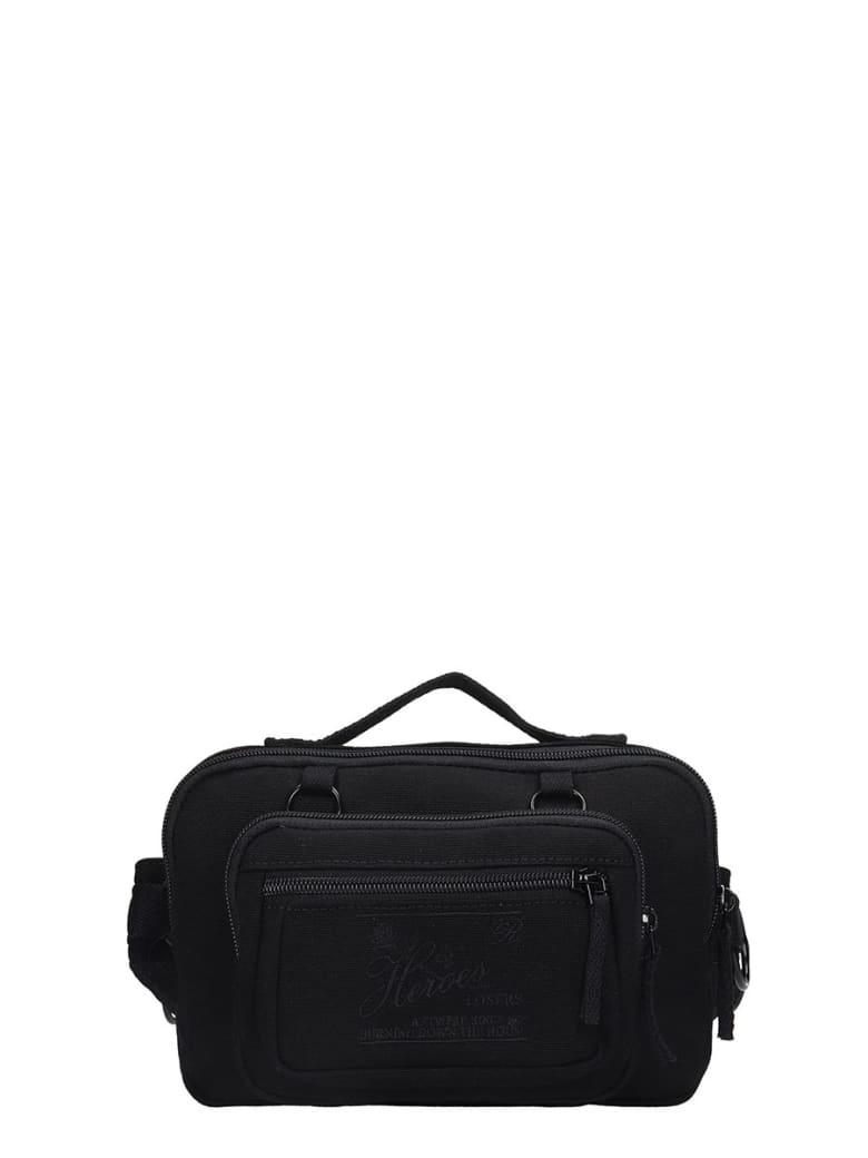 Eastpak by Raf simons Rs Waistbag  Waist Bag In Black Canvas - black