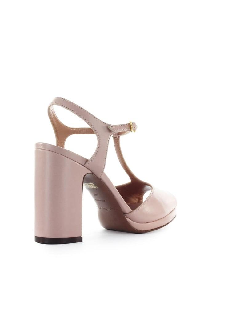 2d75448c356 L'autre Chose Powder Pink Leather Sandal