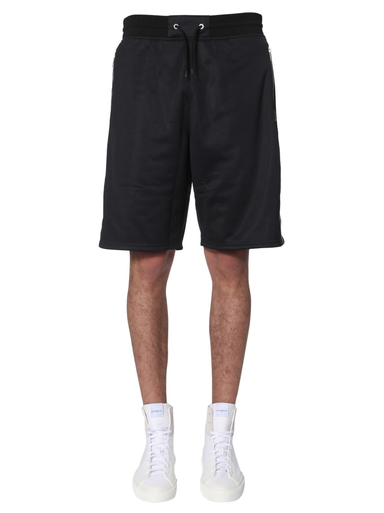 Givenchy 4g Logo Band Shorts - NERO