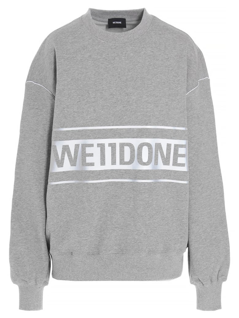 WE11 DONE Sweater - Grey