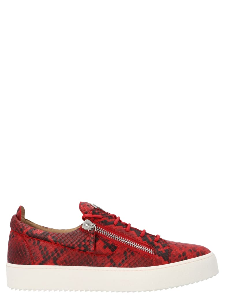 Giuseppe Zanotti 'may London' Shoes - Red