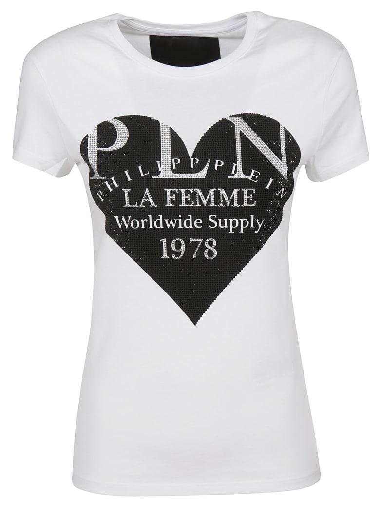 Philipp Plein Round Neck T-shirt - White