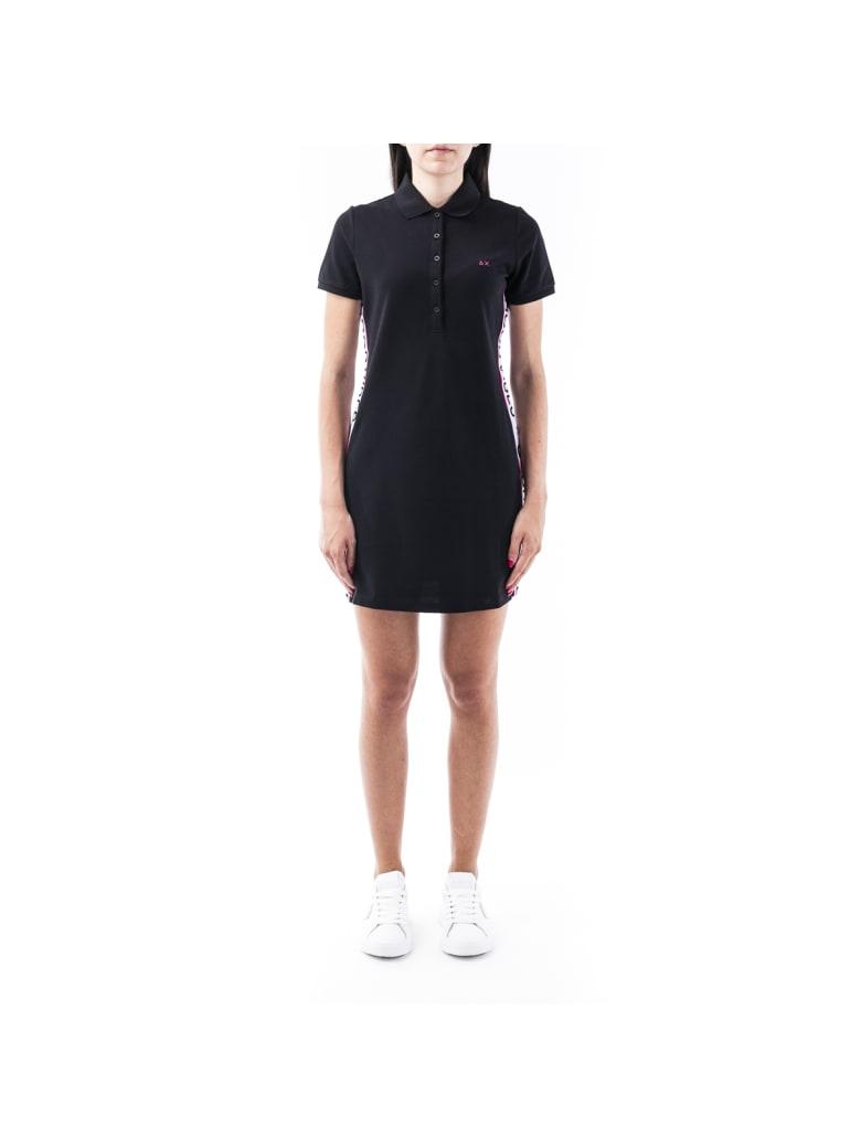 Sun 68 Sun68 Cotton Blend Dress - BLACK