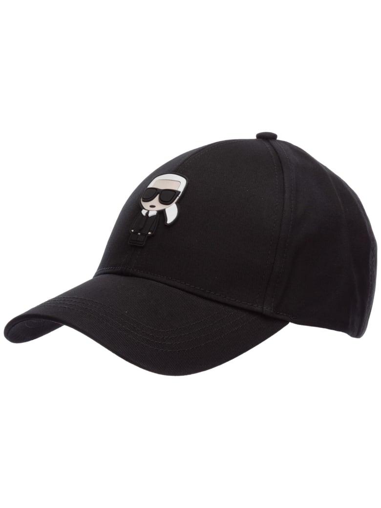 Karl Lagerfeld K/ikonik Baseball Cap - Nero