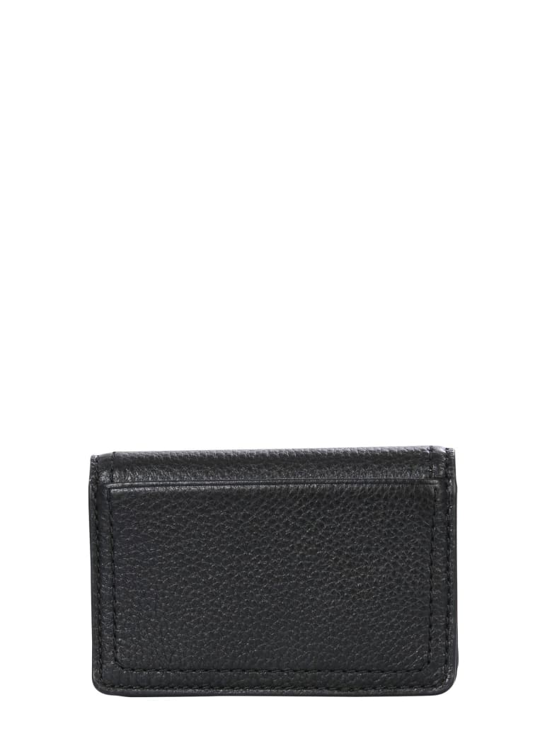 Marc Jacobs Wallet With Logo - Black