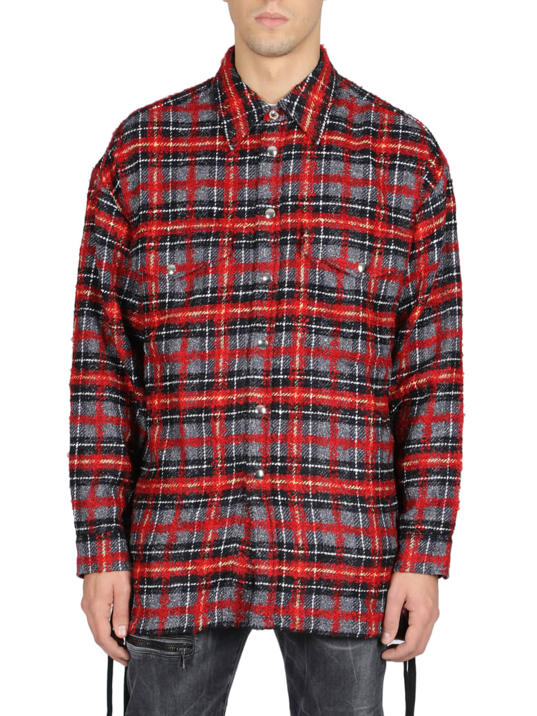 Faith Connexion Short Sleeve T-Shirt - Rosso/nero