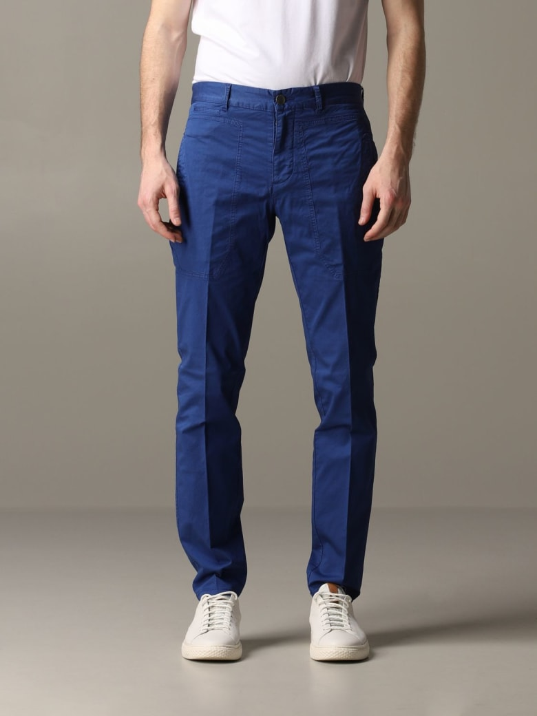 Jeckerson Pants Pants Men Jeckerson - royal blue