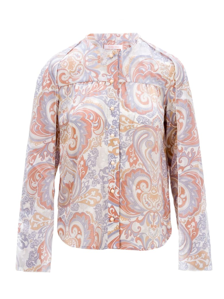 See by Chloé See By Chloe' Paisley Print Blouse - MULTICOLOR WHITE