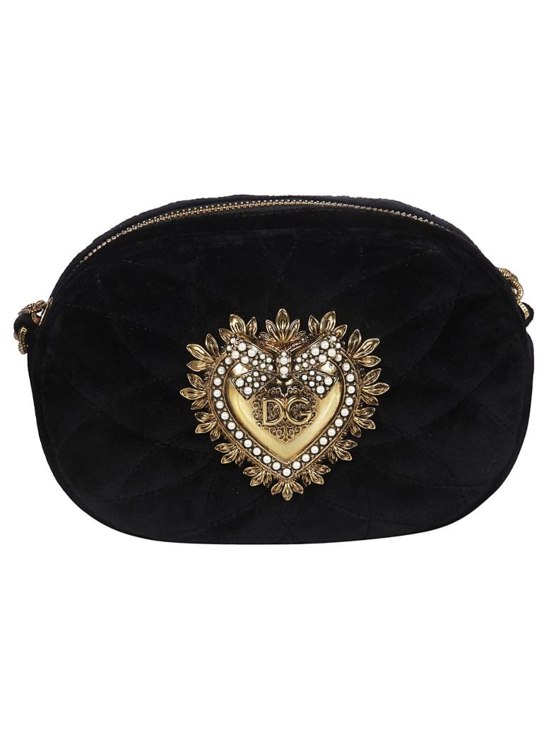 Dolce & Gabbana Devotion Shoulder Bag - Nero