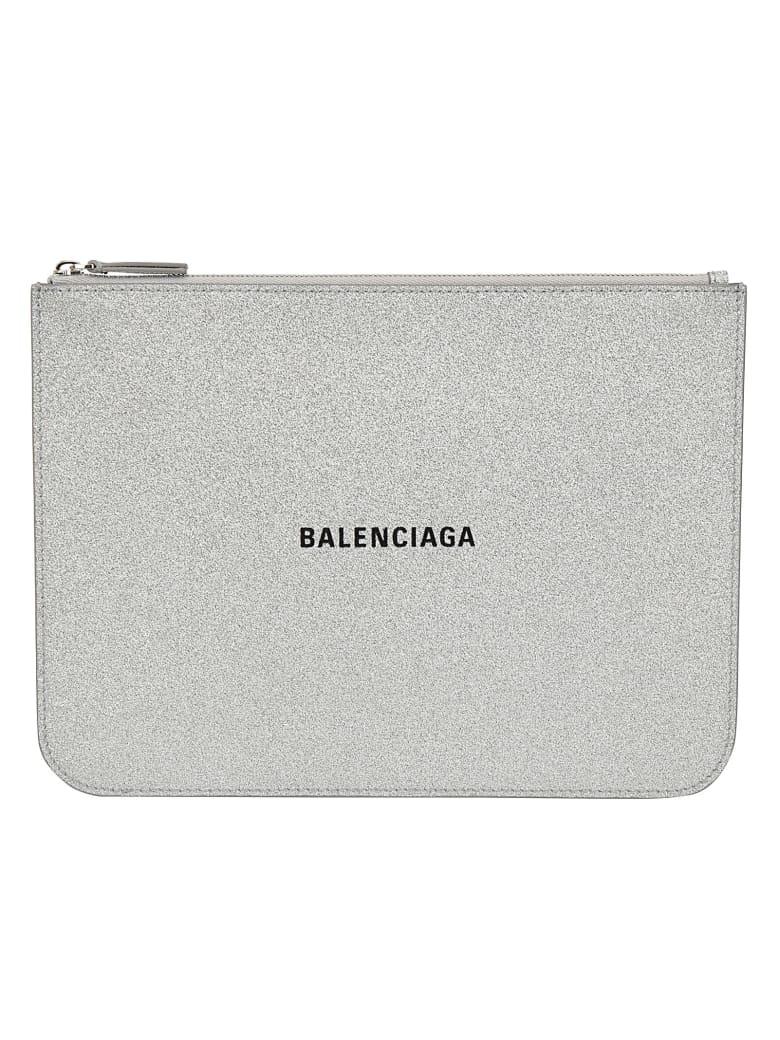 Balenciaga Pouch - Silver