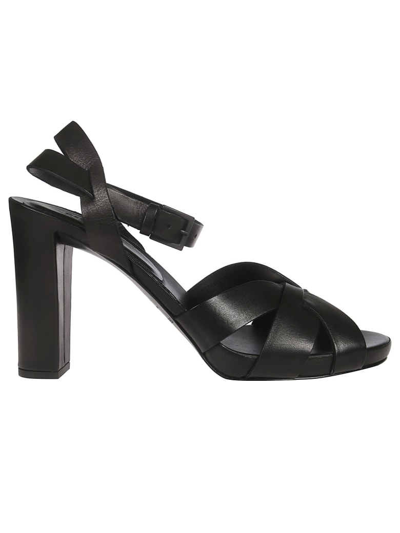 Roberto del Carlo High-heeled Strappy Sandals - Black