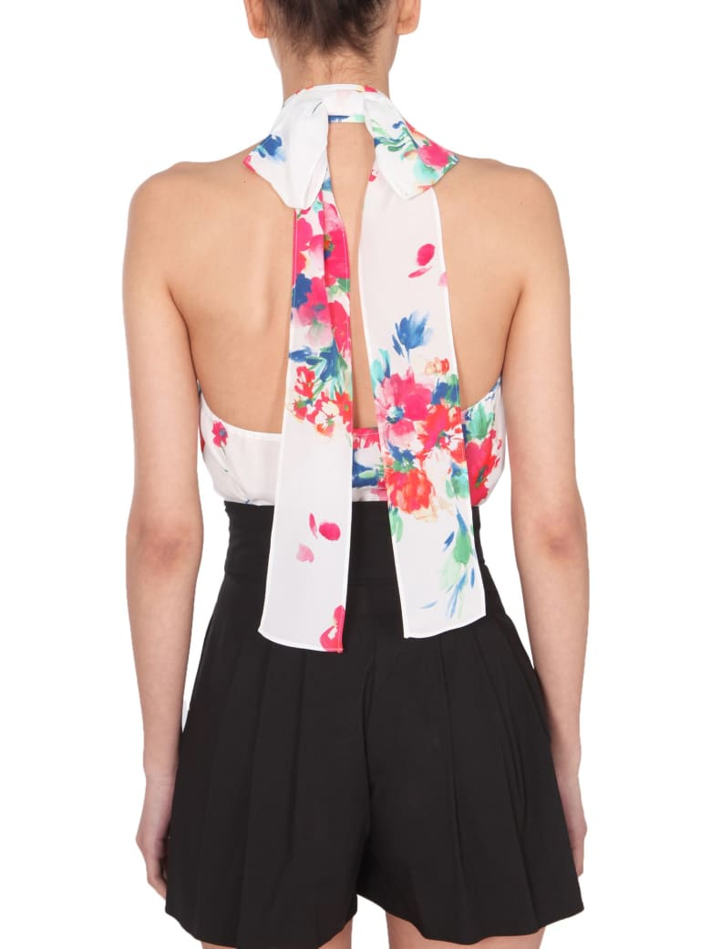 Boutique Moschino American Neck Shirt - MULTICOLOR