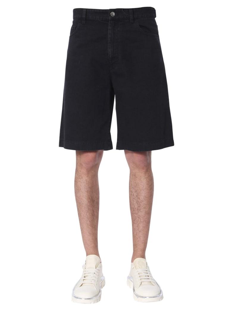 Raf Simons Denim Shorts - NERO