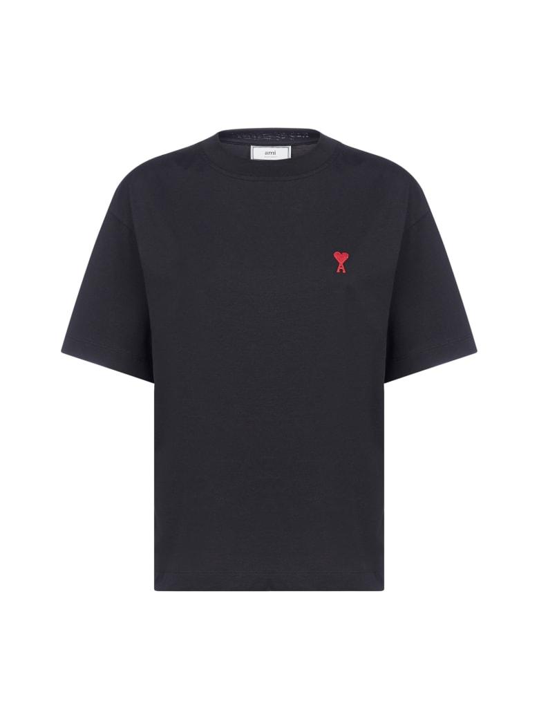 Ami Alexandre Mattiussi Short Sleeve T-Shirt - Black