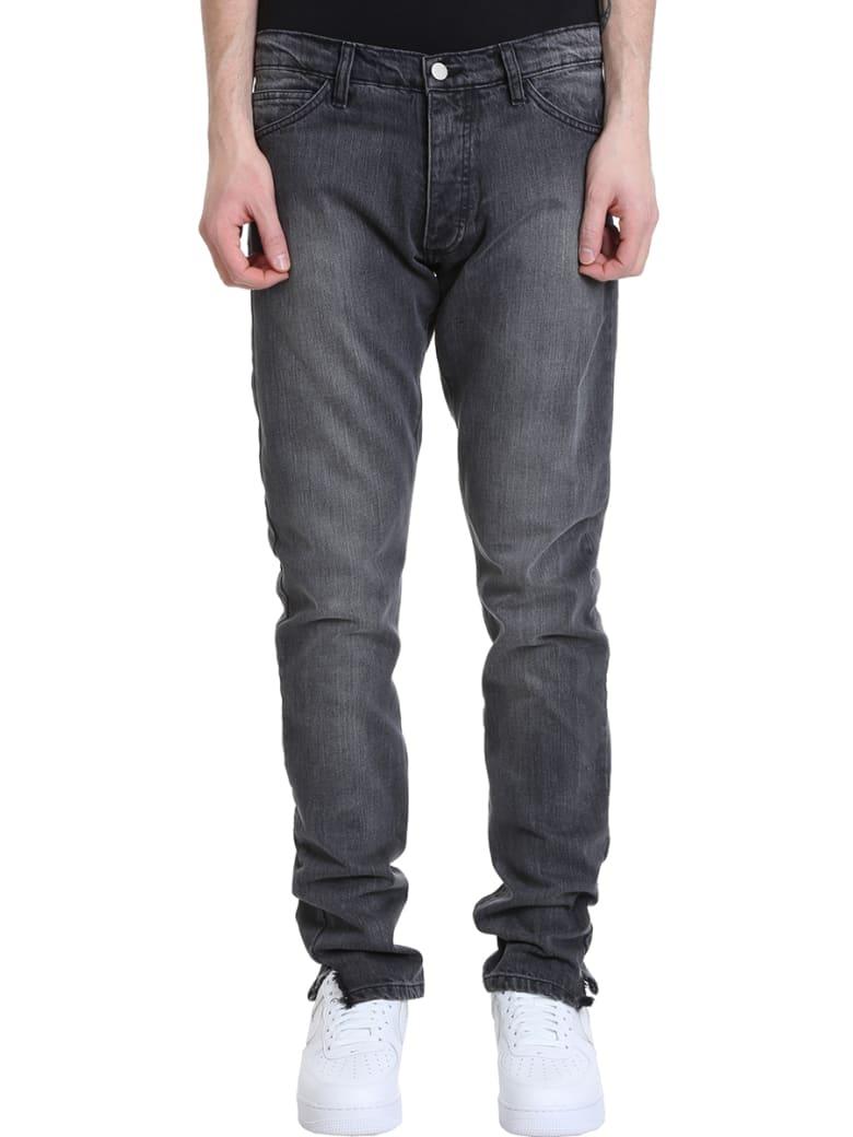 Rhude Dirt Road Grey Denim Jeans - grey