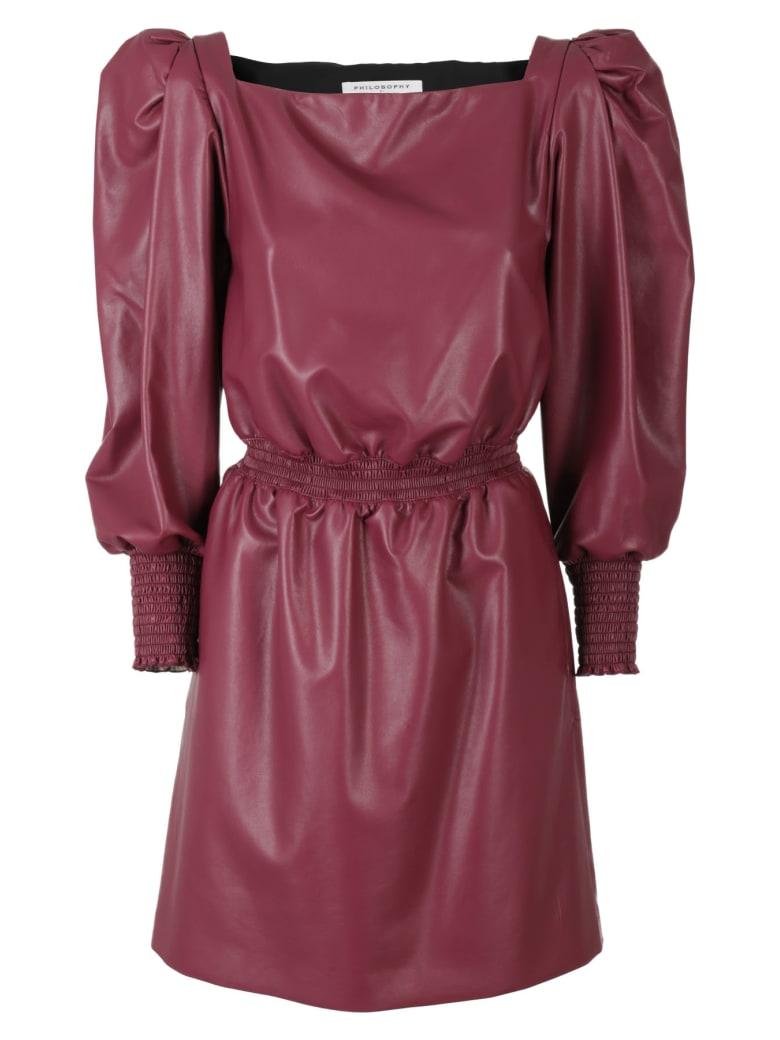 Philosophy di Lorenzo Serafini Dress - Bordeaux