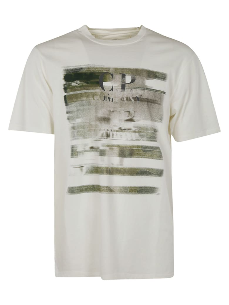 C.P. Company Short Sleeve T-shirt - white