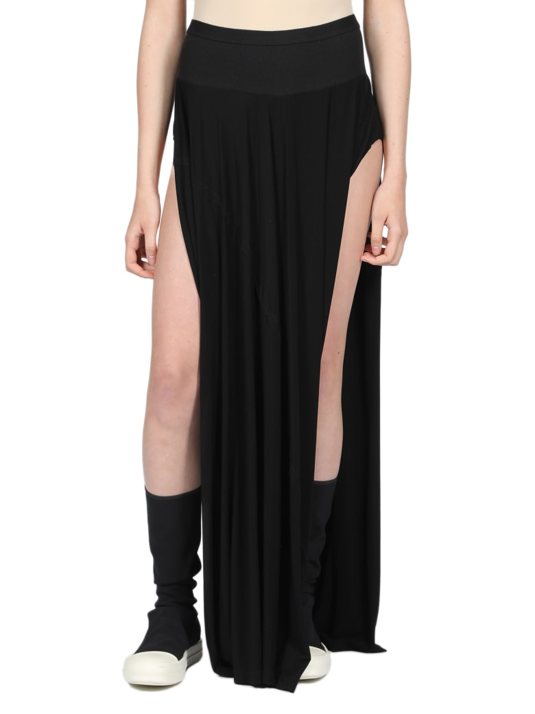 Rick Owens Lilies Skirt - Nero