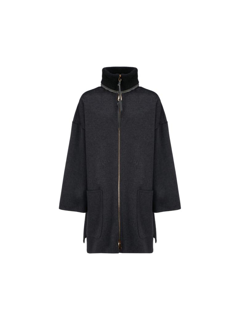 Agnona Coat - Charcoal