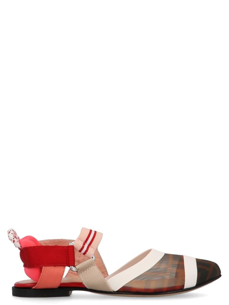 Fendi 'mini Me' Shoes - Multicolor