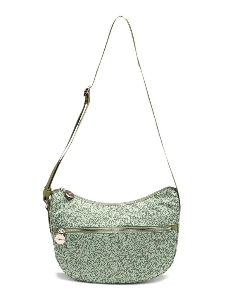 Borbonese Luna Bag Small - Verde Militare/verde Militare
